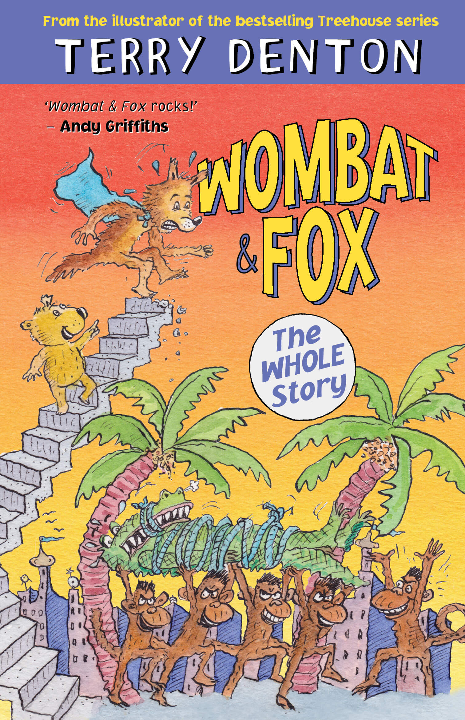 Wombat and Fox, the Whole Story