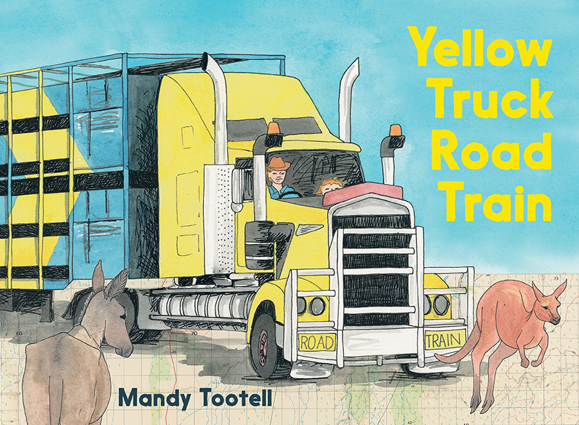Yellow Truck Road Train